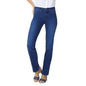 •NYDJ• Marilyn Straight Leg Denim Jeans sz. 12